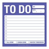Reguar To Do List Sticky Notes