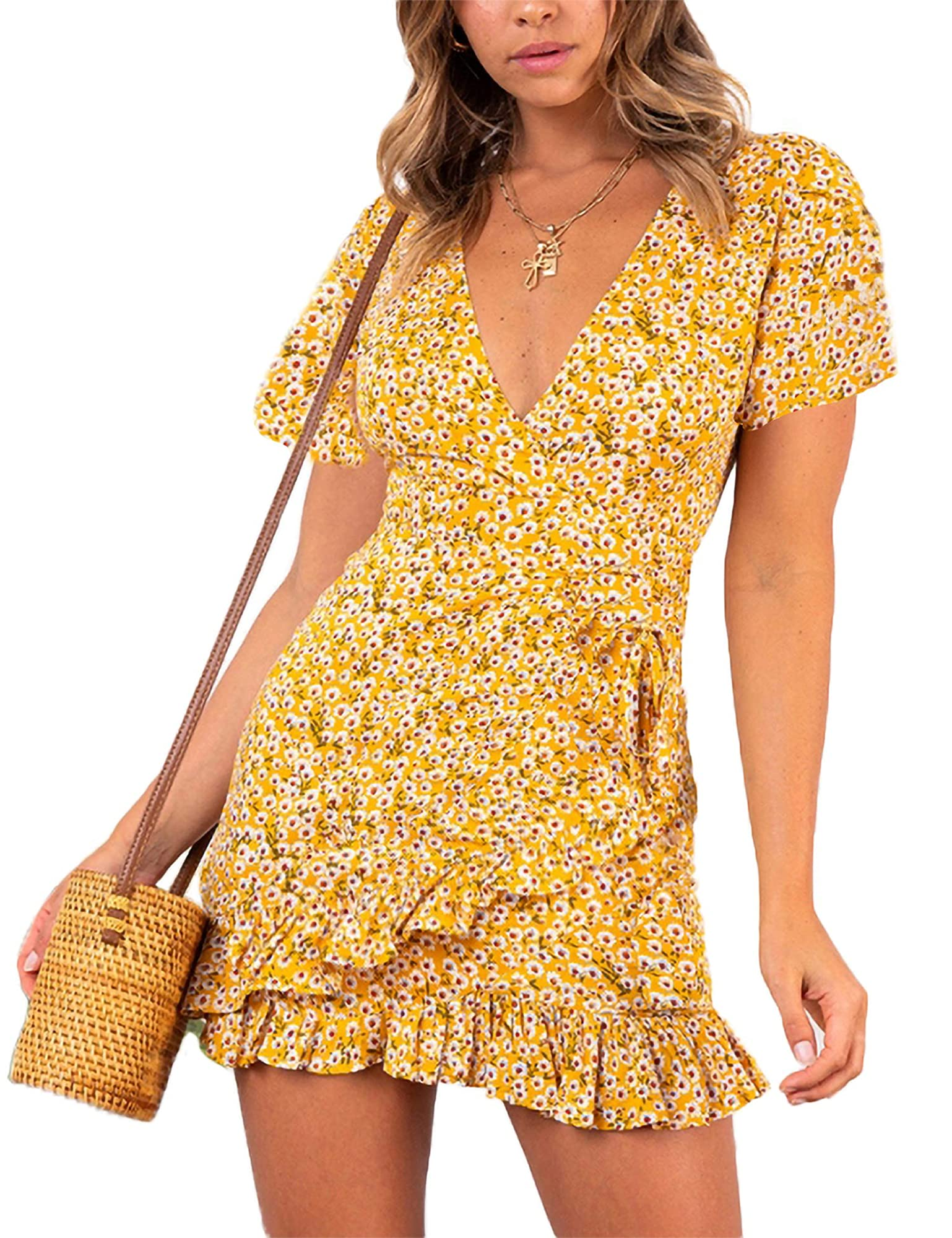 Casual Summer Wear Short Dresses