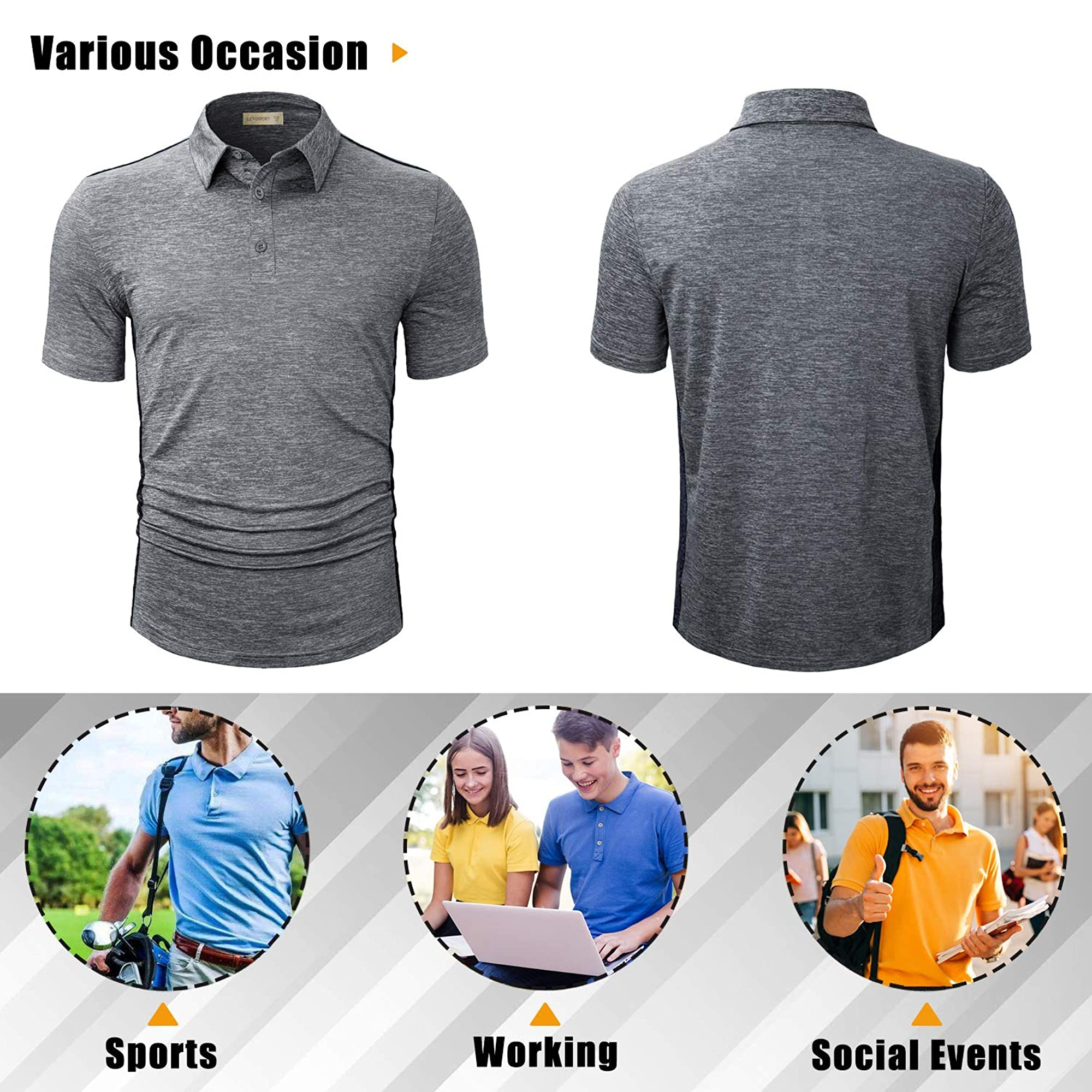 Polo T-Shirts For Men For Sleek Look