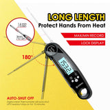 Digital Meat Thermometer - Pack Of 2