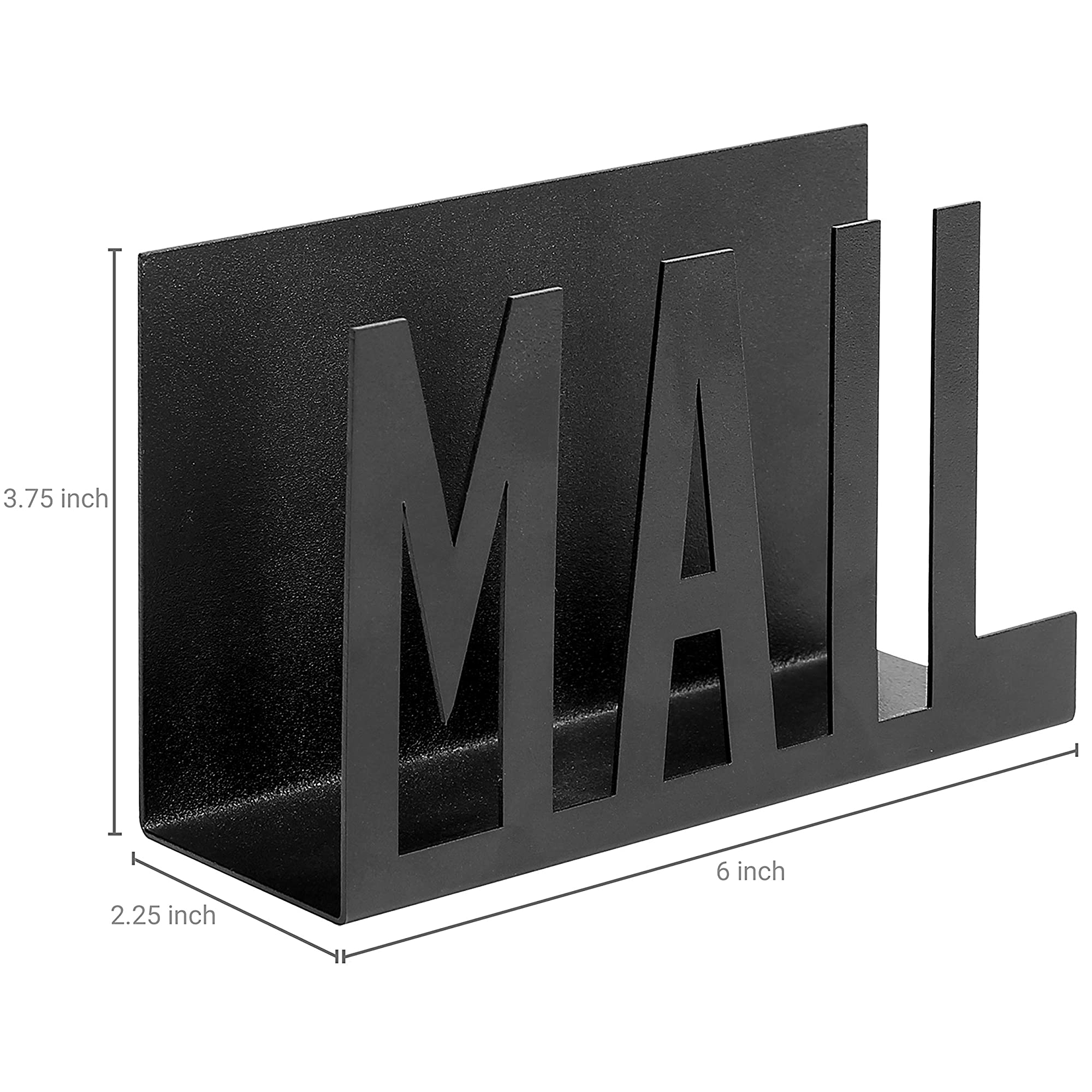 White Desktop Mail Letter Holder