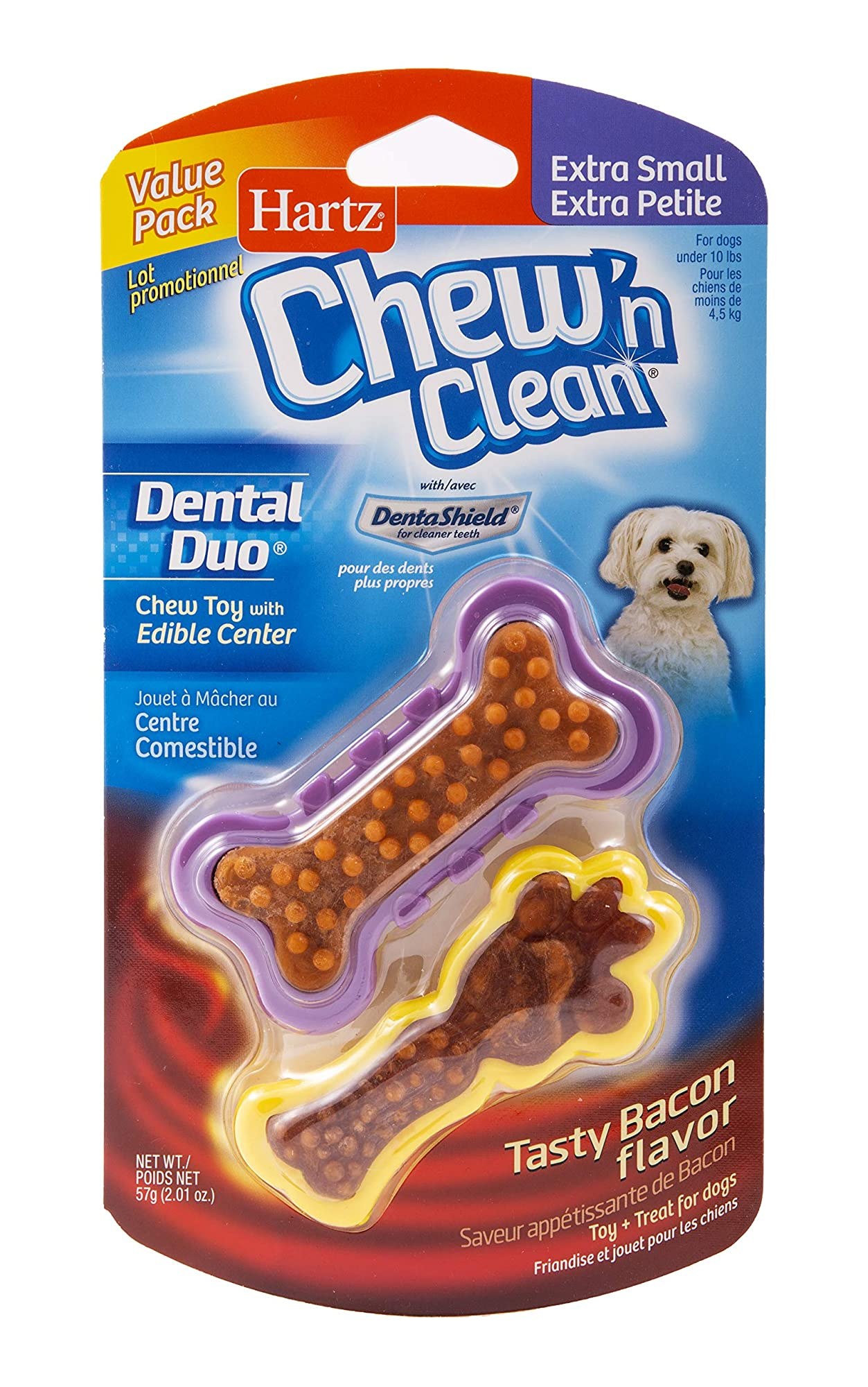 Clean Bacon Flavored Dog Chew Toy
