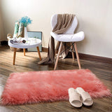 Luxury Furry And Fluffy Bedroom Rugs