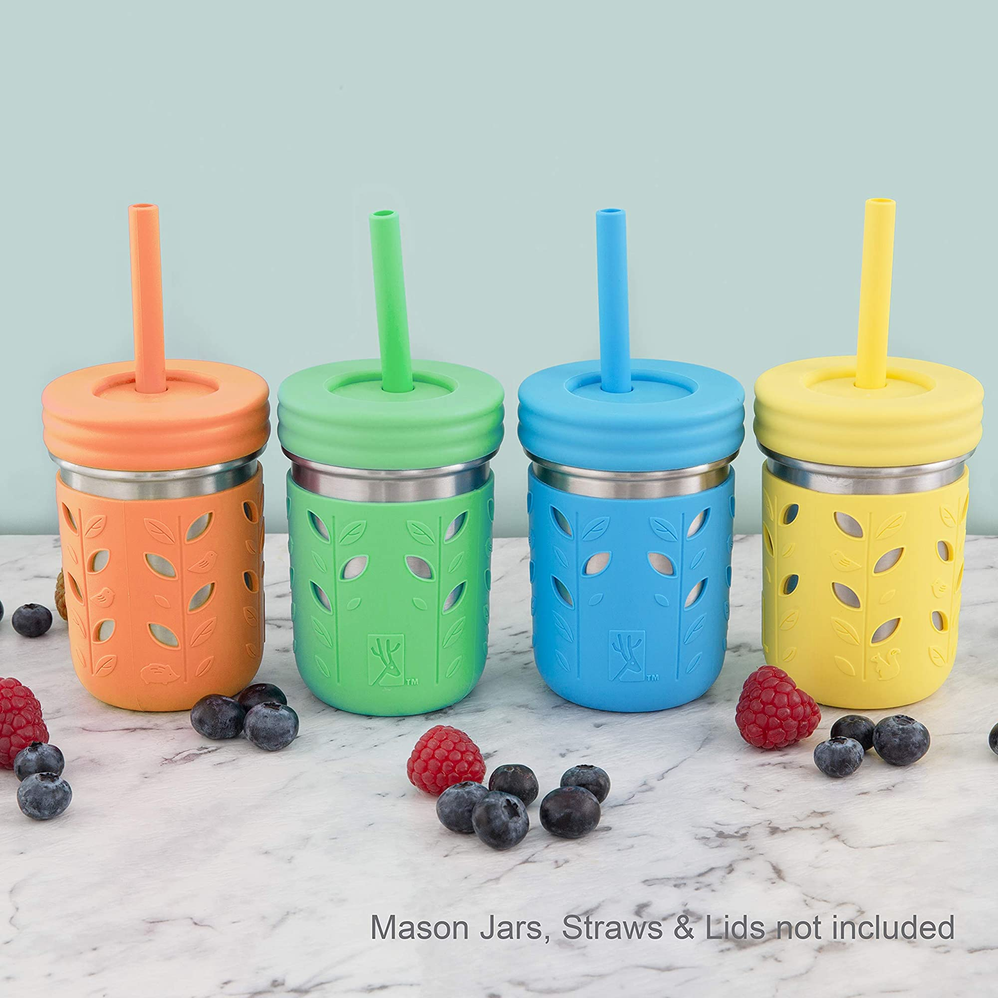 Stainless Steel Mason Jar Sleeves