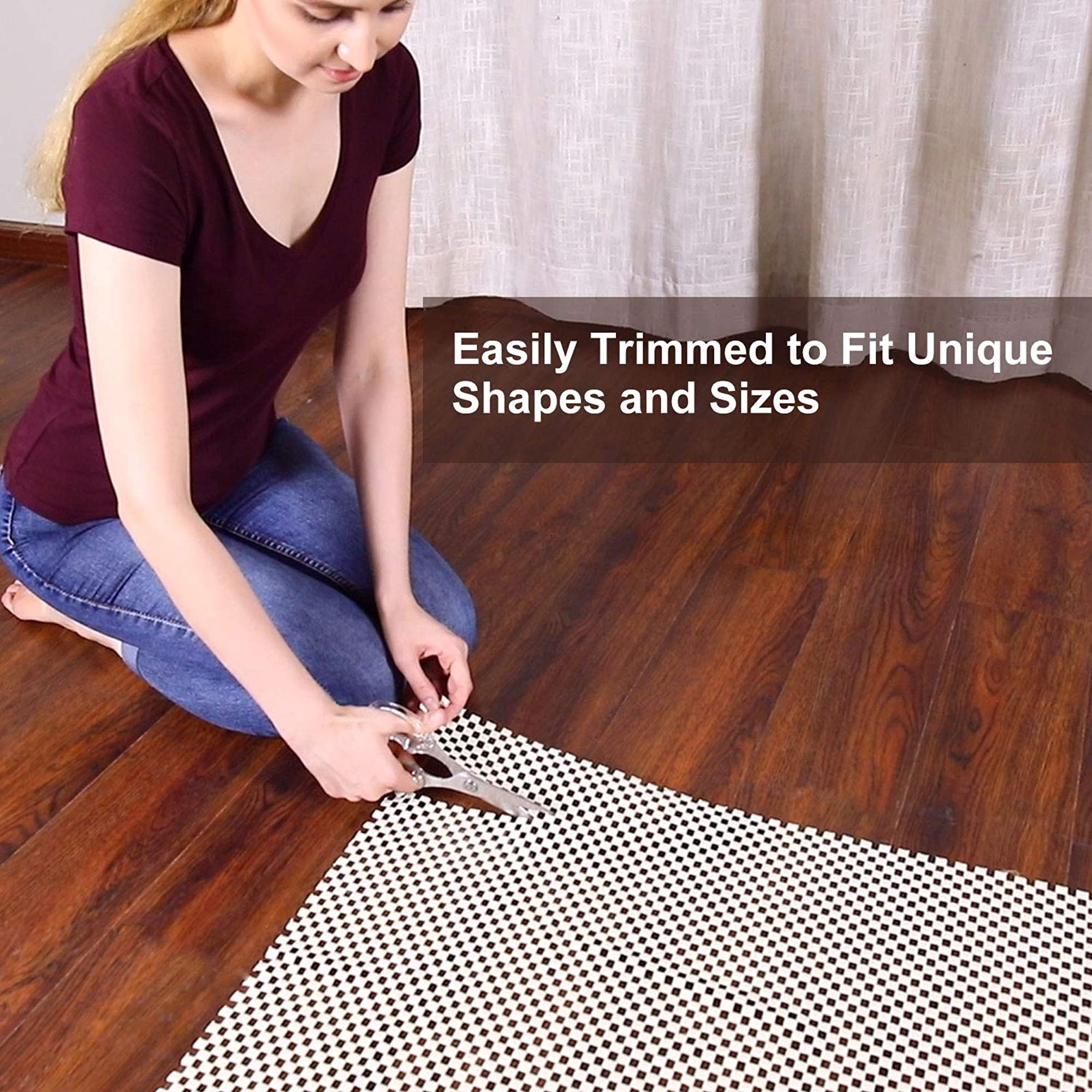 NonSlip Thick Pad Surface Floor Rug