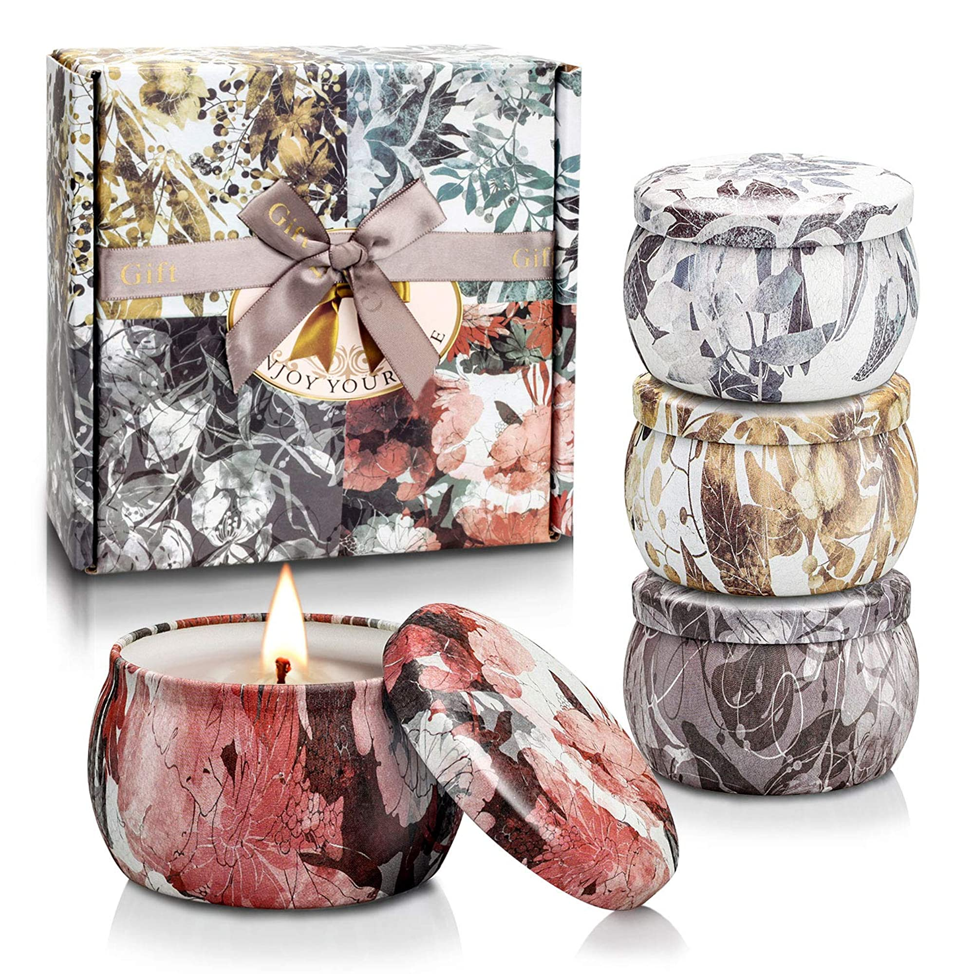 Dreamy Aromas Tin Scented Candle Set