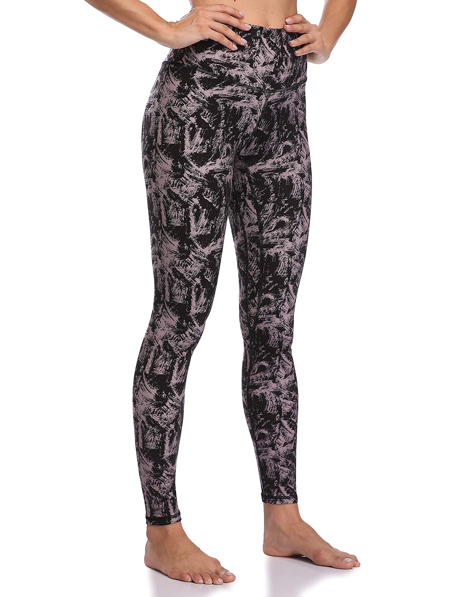 Women'S High Waisted Pattern Leggings Full-Length Yoga Pants