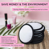 White Reusable Makeup Remover Pads
