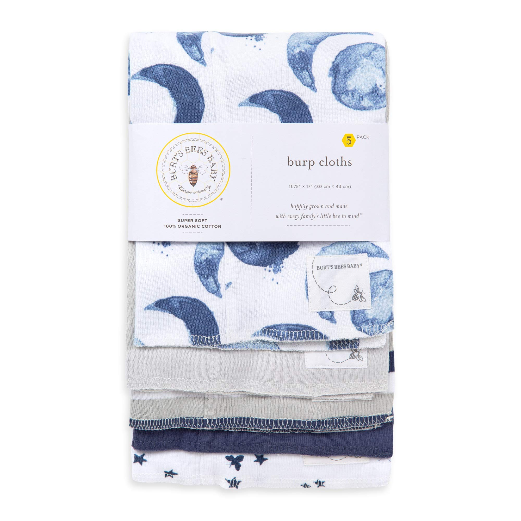 Organic Absorbent Cotton Burp Cloths