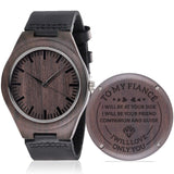 Personalized Wooden Watches For Men