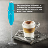 Zulay Handheld Milk Frother And Foam Maker For Lattes