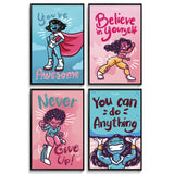 Posters Wall Art For Teen Girls Room
