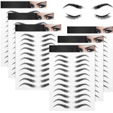 Arch Style Waterproof Eyebrow Stickers