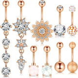 Navel Belly Button Rings For Women
