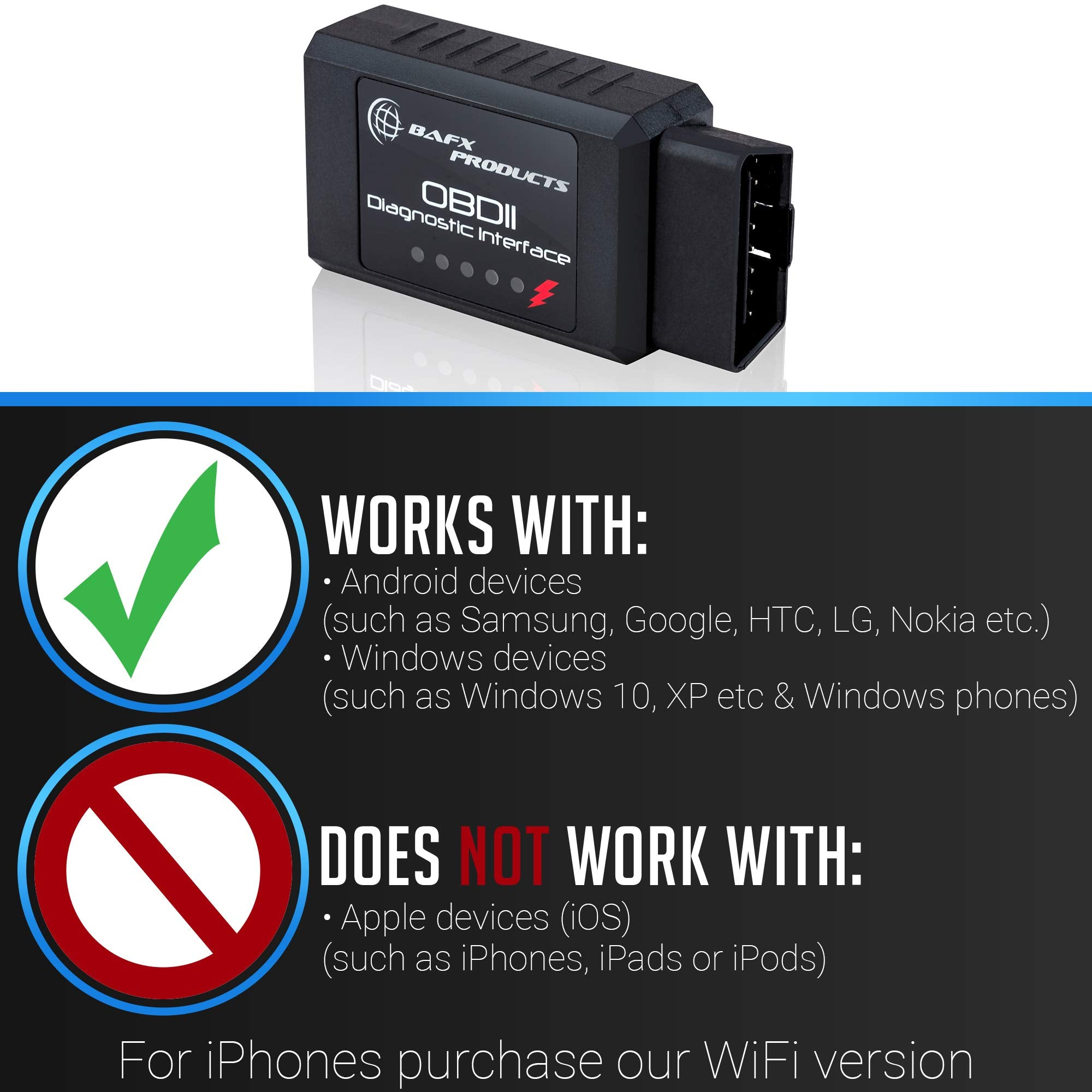 Wireless Bluetooth Car Scanner And Reader