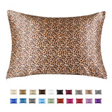 Standard Satin Pillowcase With Zipper