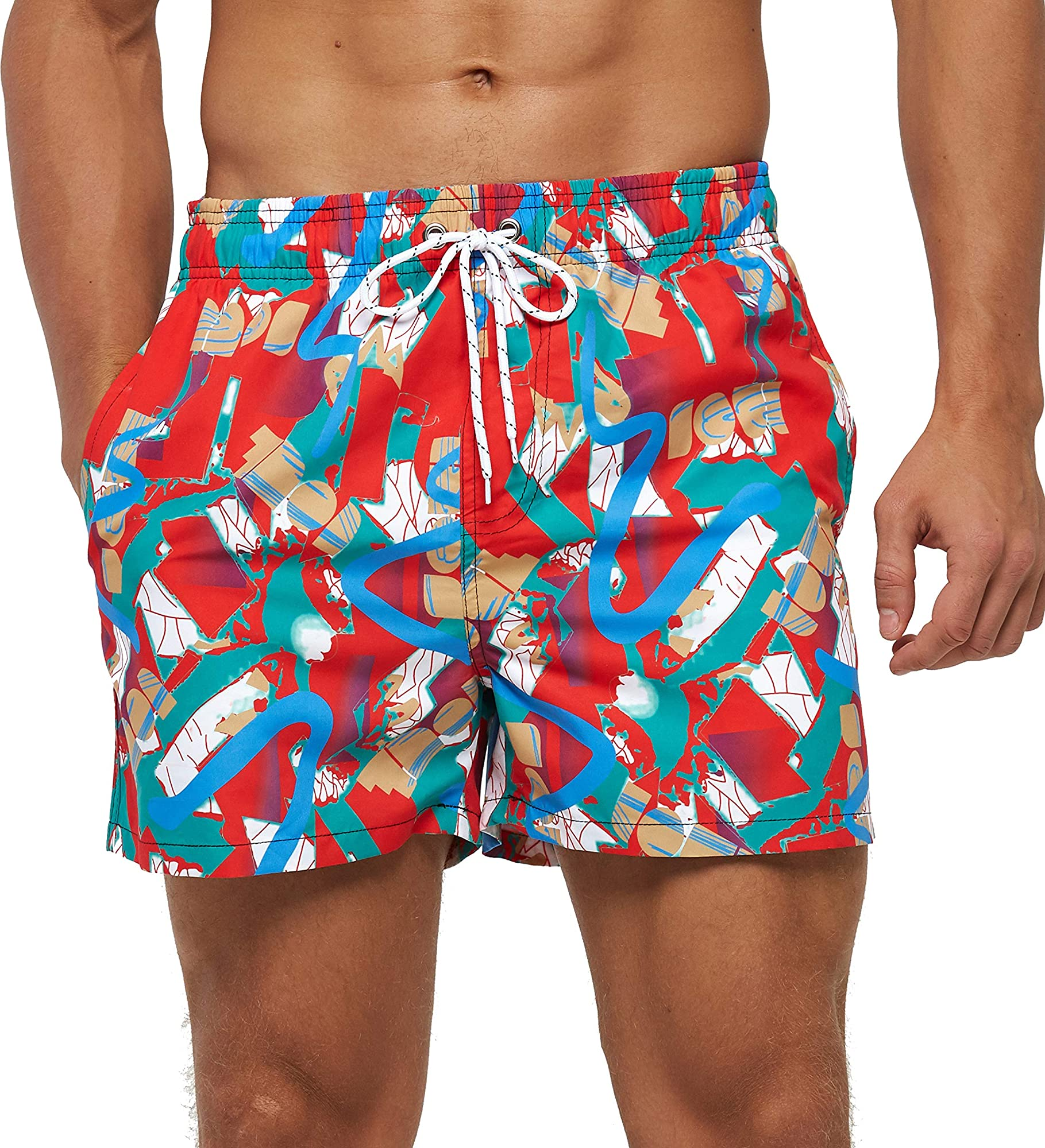 Swim Trucks For Men With Quirky Prints