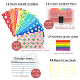 12 Pieces Of Cash Budgeting Envelopes