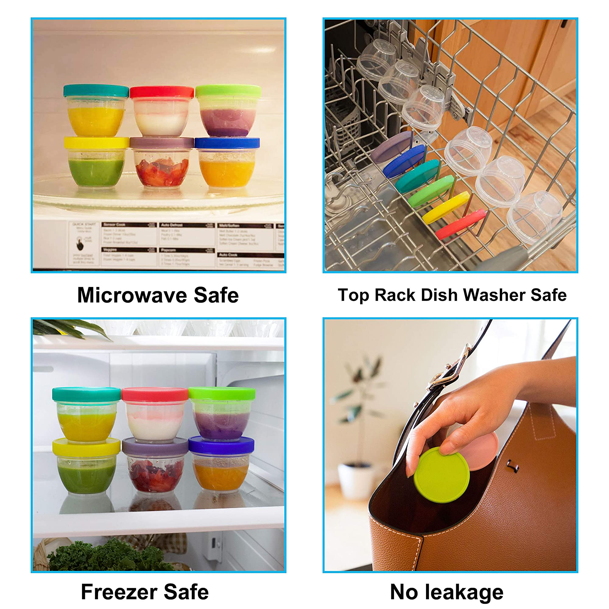 Food Containers And Storage With Lids