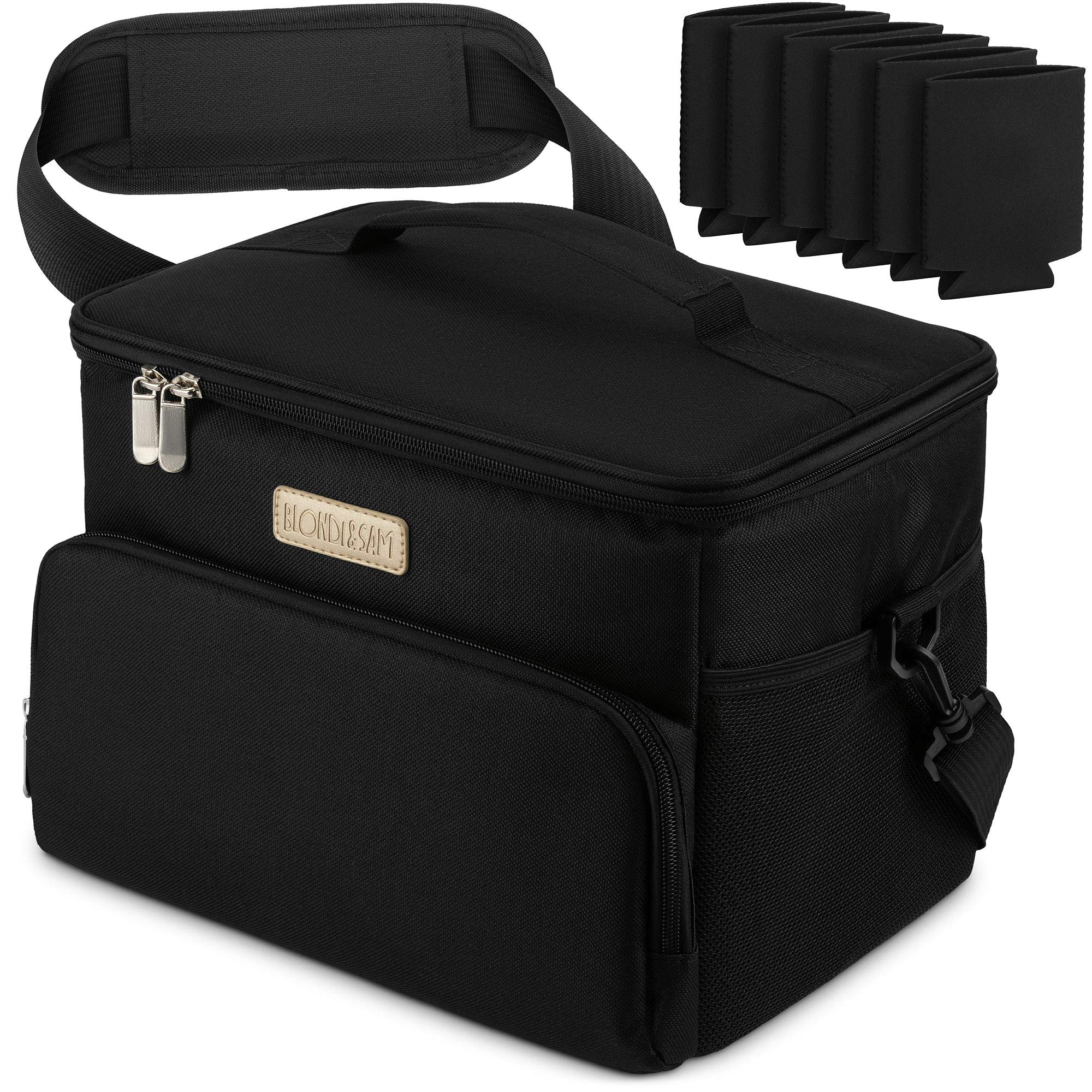Cooler Bag With Zipper Closure