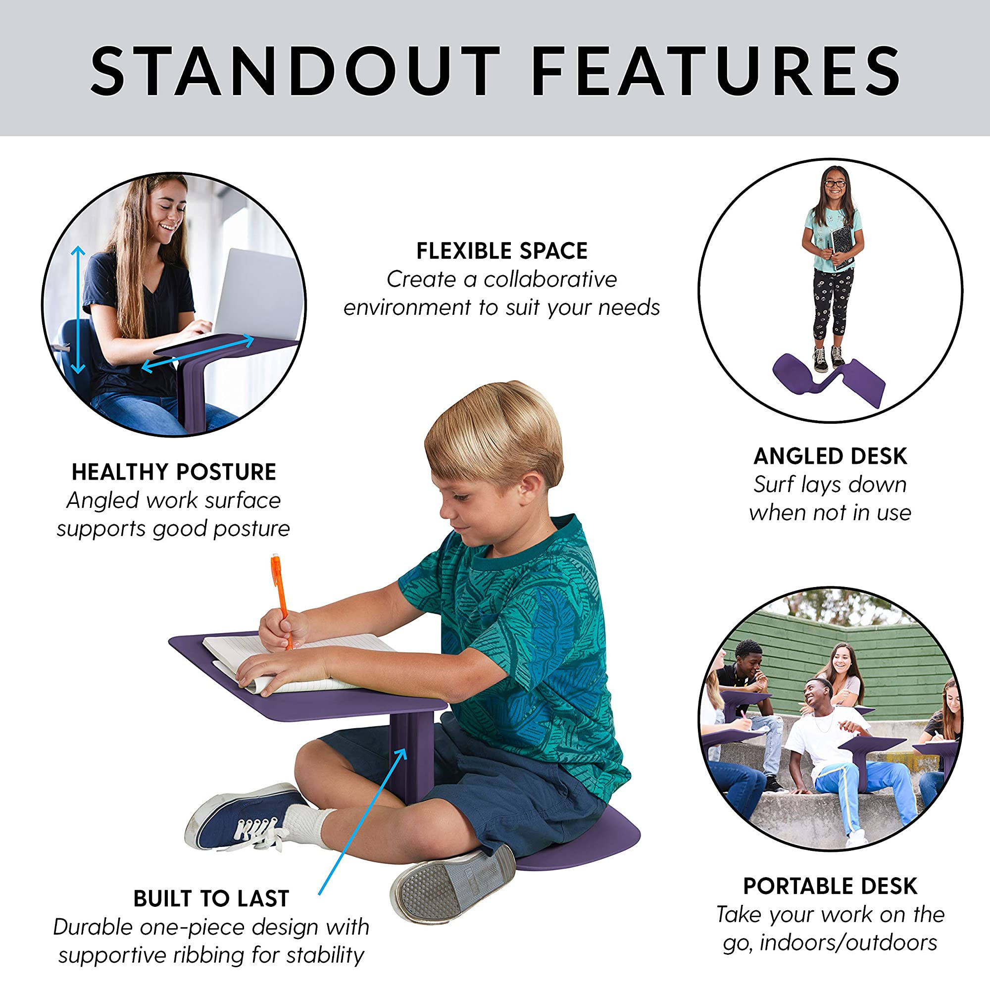 Lap Desks For Kids, Teens & Adults