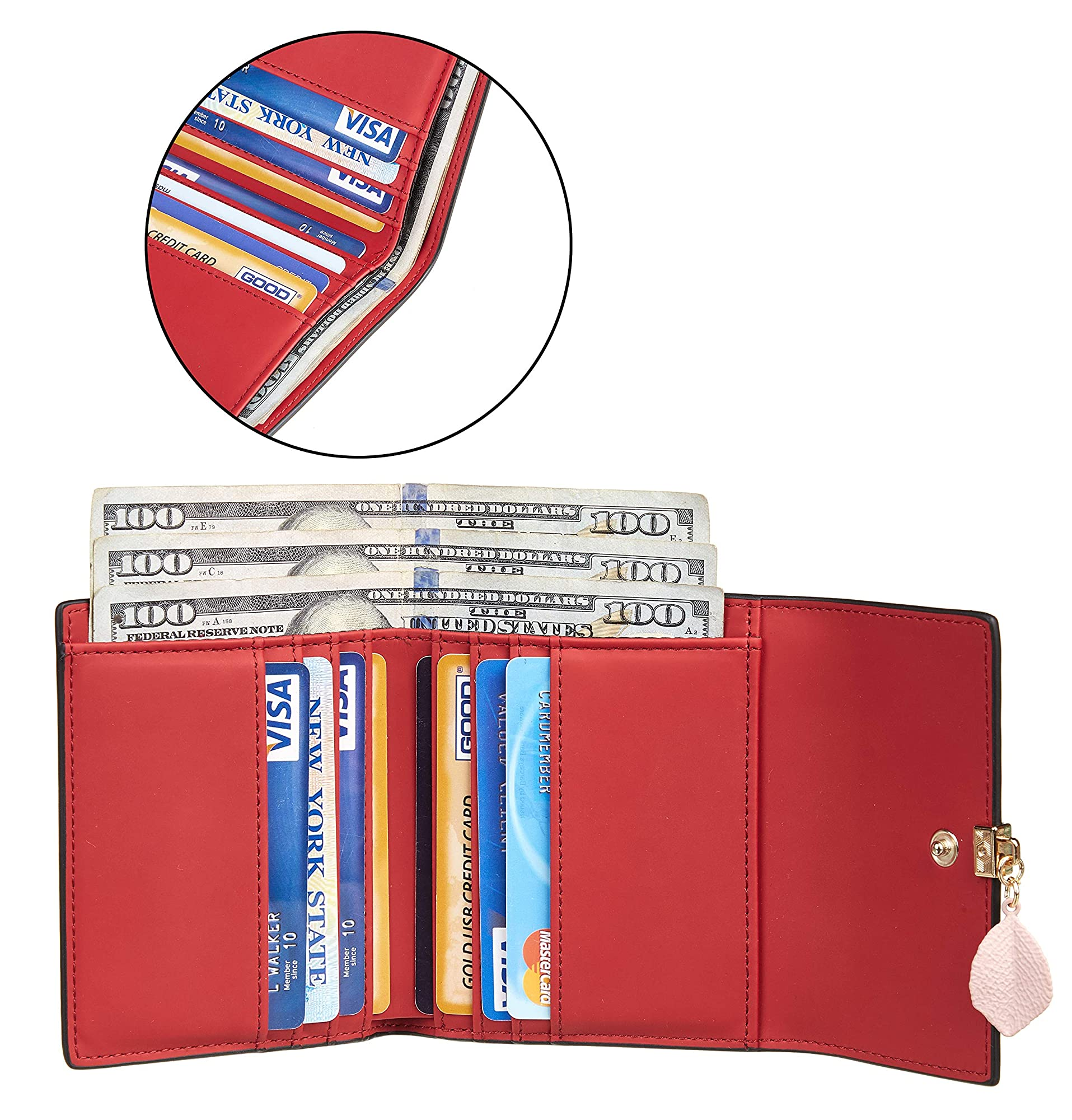 Mini Compact Pocket Wallet Trifold