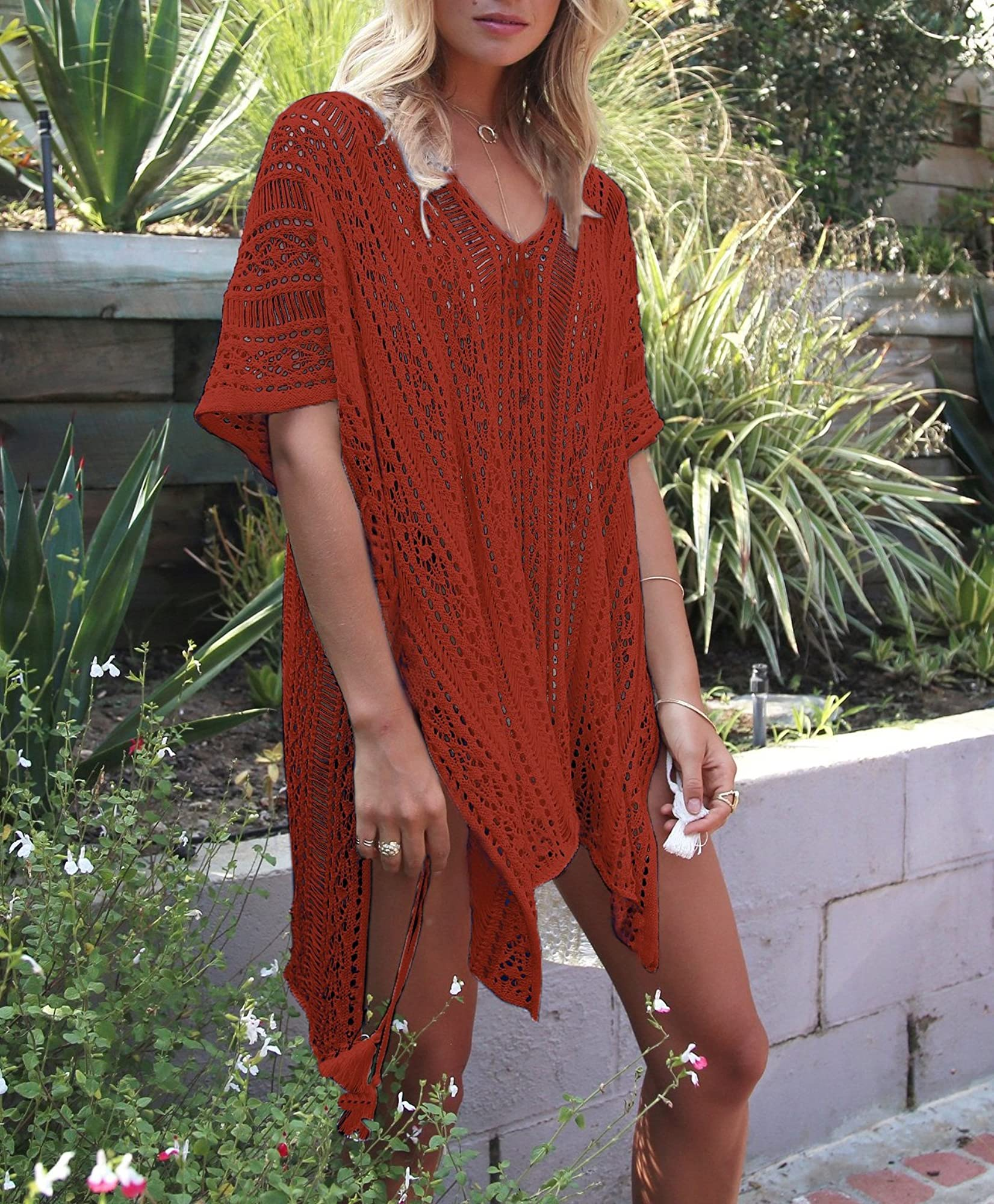 Bohemia Style Beach Swimsuit Cover-Ups