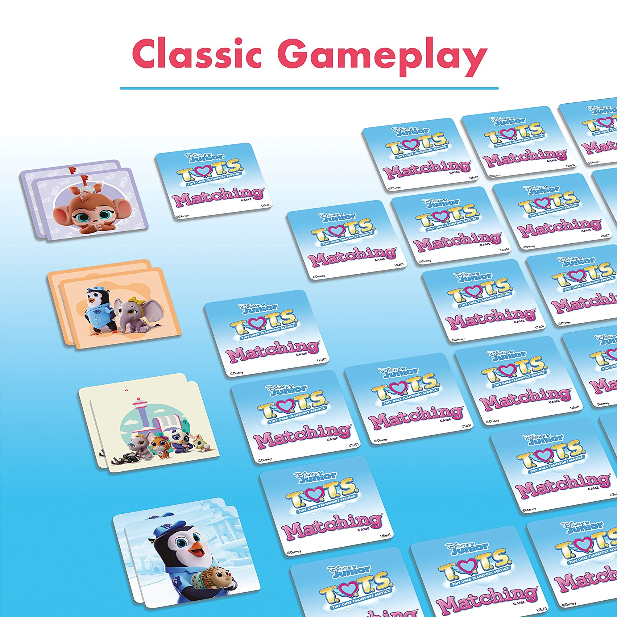 Disney Memory Game For Boys & Girls