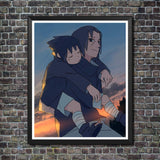Home Decor Canvas Anime Print Poster