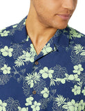 Casual Shirt For Men With Tropical Prints