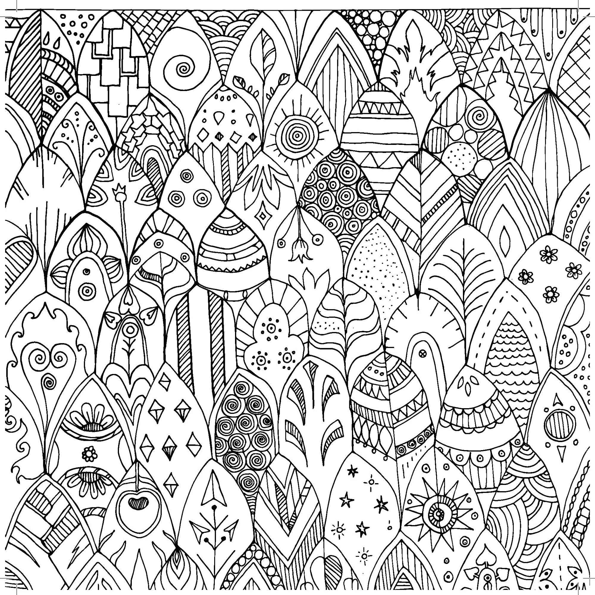 Pattern Play Perfect Bound Coloring Book.