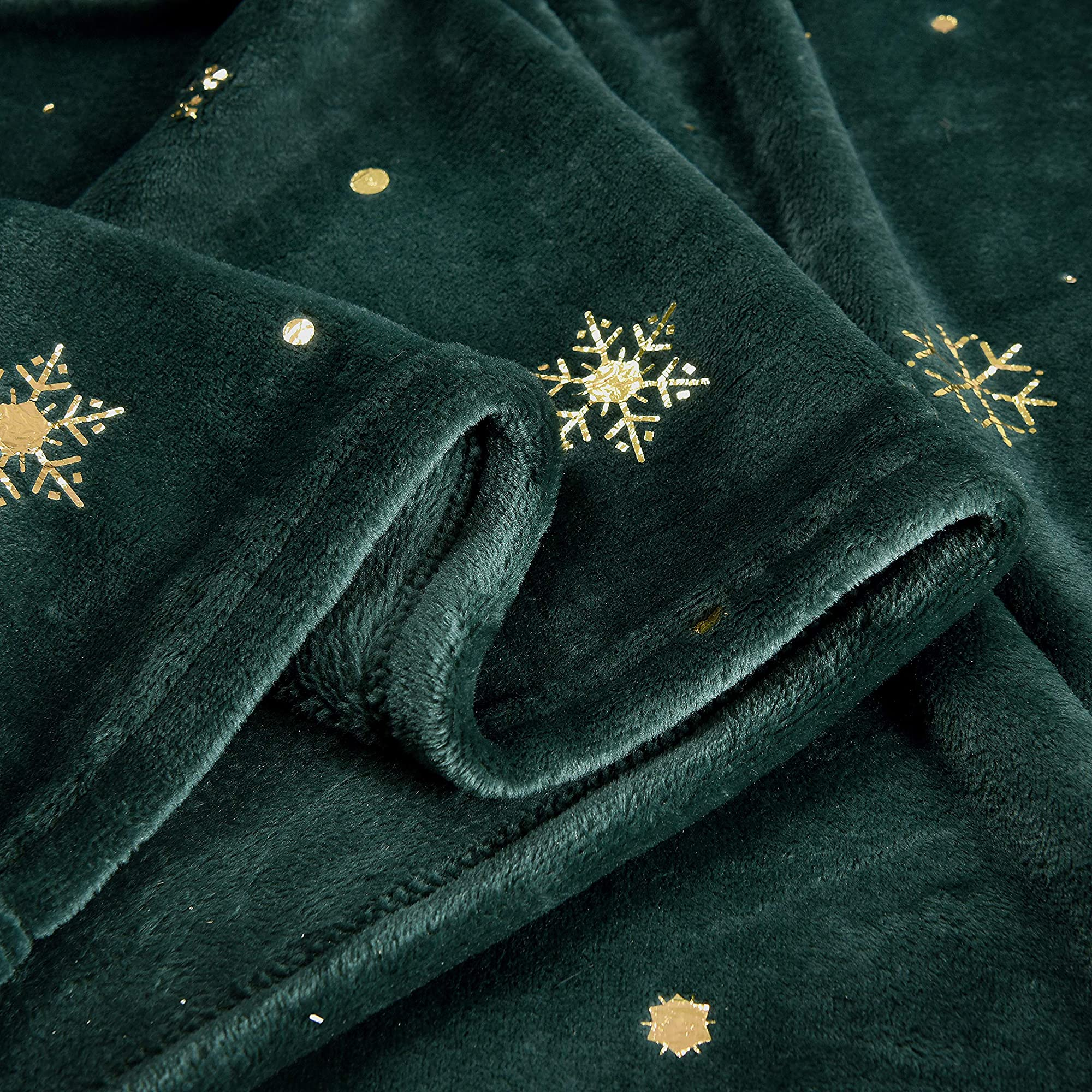 Starry Flannel Fleece Throw Blanket