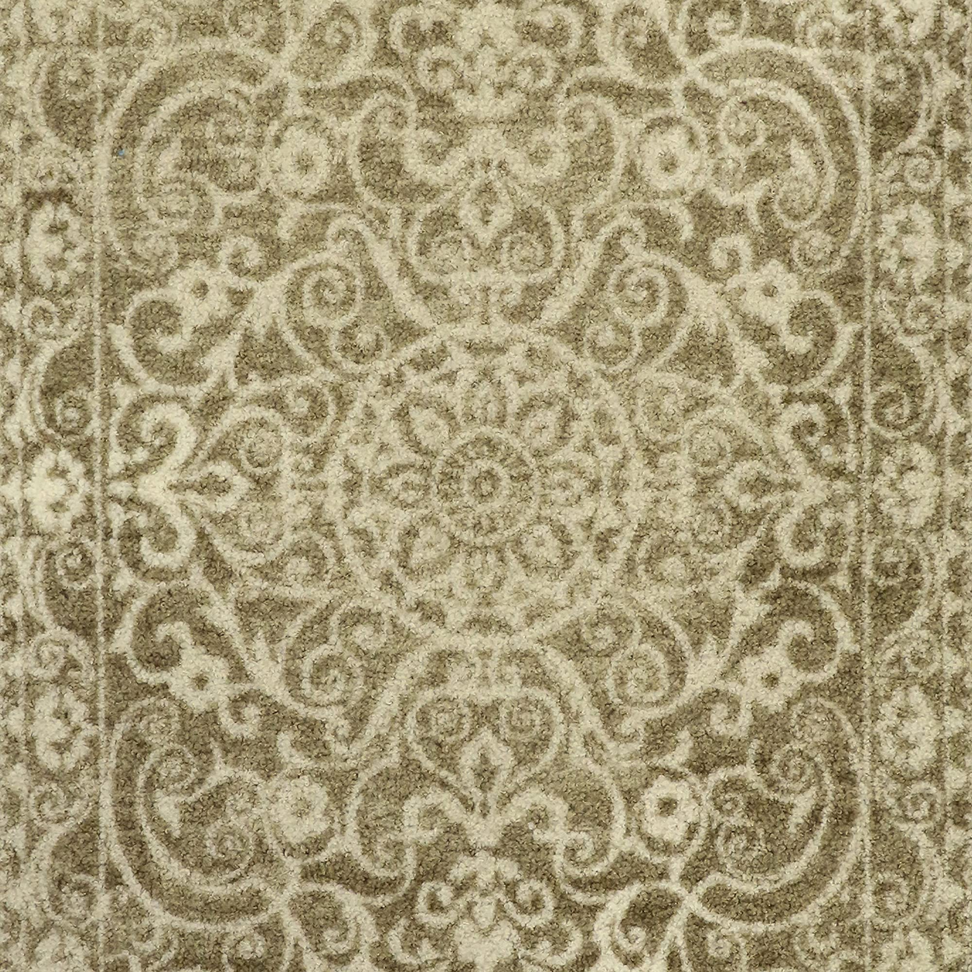 Dual-Colored Vintage Kitchen Rugs