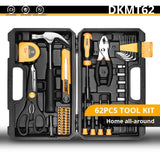 DEKO Household General Hand Tool Kit with Storage Case