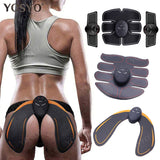 EMS Hip Trainer Muscle Stimulator ABS Fitness Back Lifting Toner Unisex