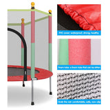 High Quality Kids Trampoline Indoor Outdoor Folding Max Load 400kg Safety Toy