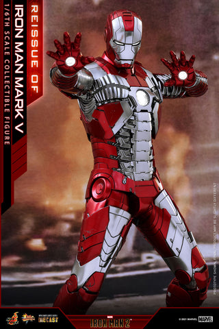 *PREORDER DEPOSIT* Iron Man 2 - Iron Man Mark V 1/6th Scale Collectible Diecast Figure Reissue
