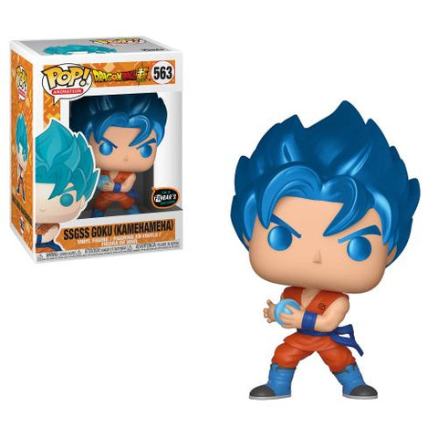 POP! Animation Dragon Ball Super Saiyan Blue Goku Kamehameha