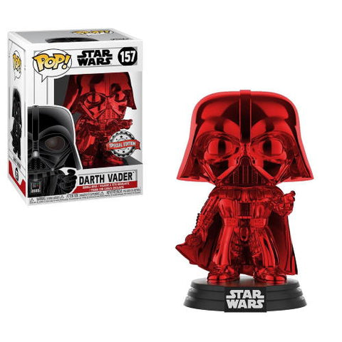 POP! Star Wars Darth Vader Red Chrome