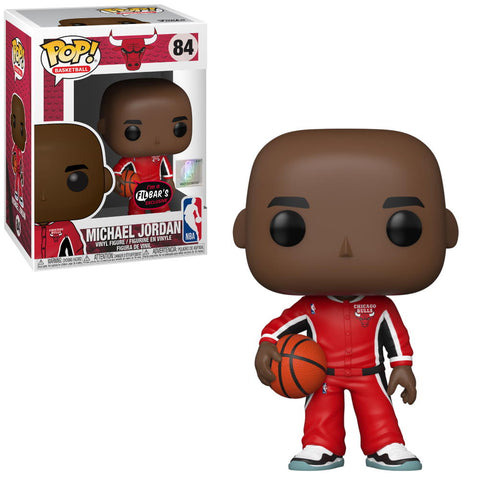 POP! Basketball: Michael Jordan (Red Warm-ups) Filbar's Exclusive