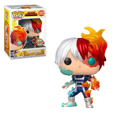 POP! Animation My Hero Academia Todoroki Metallic