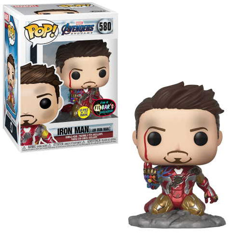 POP! Marvel Avengers Endgame Iron Man (I am Iron Man)