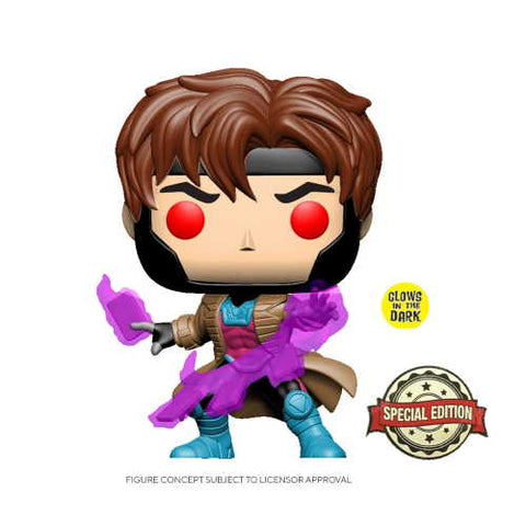 POP! X-Men: Gambit Glow in the Dark