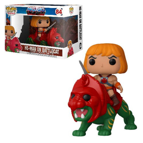 POP! Rides: Masters of the Universe - He-Man on Battlecat