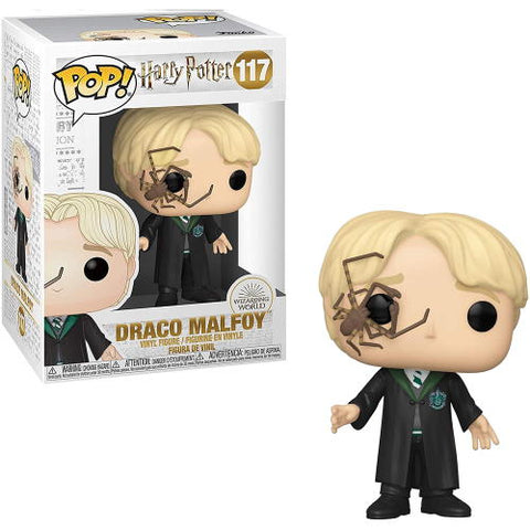 POP! Harry Potter: Malfoy with Whip Spider