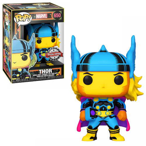 POP! Marvel: Black Light - Thor