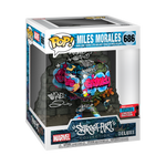 POP! Deluxe: Marvel - Miles Morales (Graffiti Deco) with Boss Protector