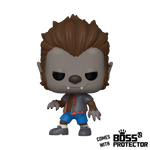 POP! Animation: The Simpsons- Werewolf Bart with Boss Protector