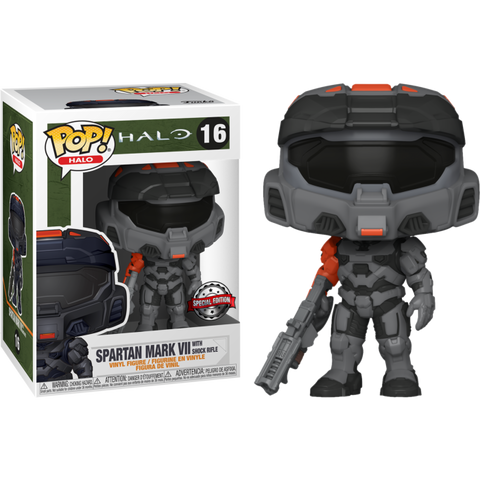 POP! Games: Halo Infinite - Spartan Mark VII with Shock Rifle