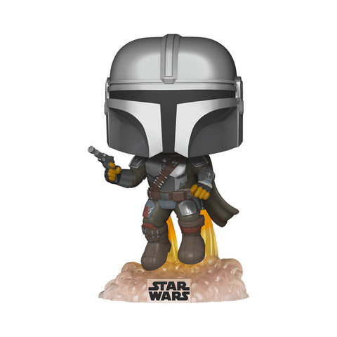 POP! Star Wars: The Mandalorian (Flying with Blaster)